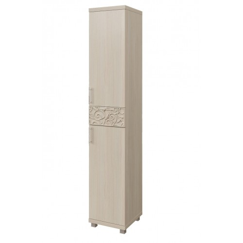 04 «Ирис» Шкаф-пенал комбинированный (2 двери 1 ящик) (Дуб Бодега)