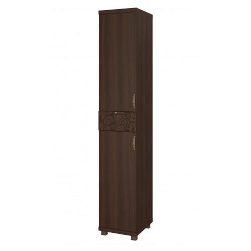 04 «Ирис» Шкаф-пенал комбинированный (2 двери 1 ящик) (Дуб Тортона)