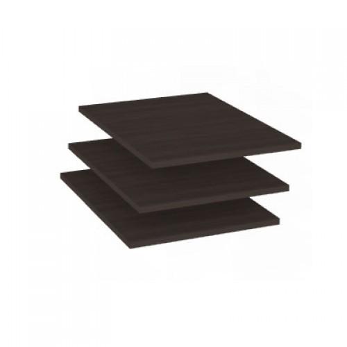 23 «Ирис» Комплект полок *3шт.к шкафам для одежды мод. 10, 11 (Дуб Тортона)