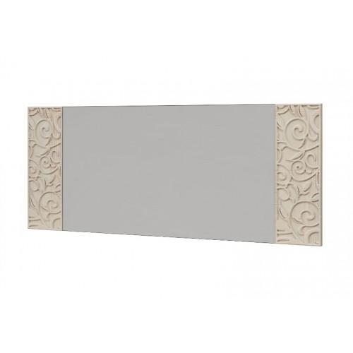 18 «Ирис» Зеркало настенное со вставками  (Дуб Бодега)