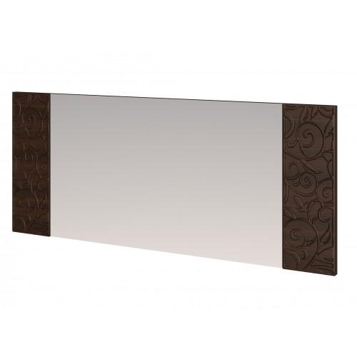 18 «Ирис» Зеркало настенное со вставками (Дуб Тортона)