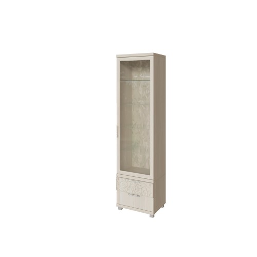 20 «Ирис» Шкаф для посуды (Дуб Бодега)