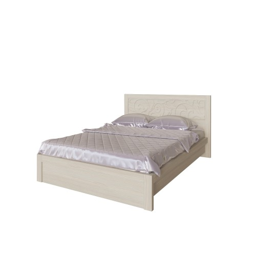 22 «Ирис» Кровать 140*200 см, без ортопеда, без матраса  (Дуб Бодега)
