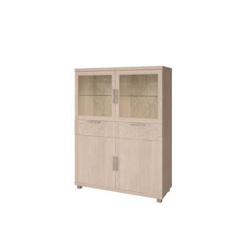 25 «Ирис» Шкаф комбинированный (Дуб Бодега)