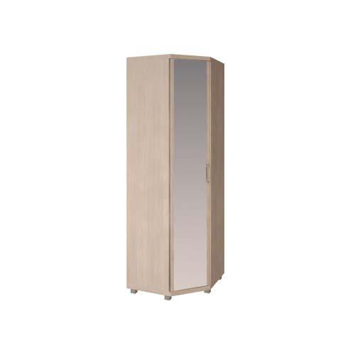 27 «Ирис» Шкаф угловой с зеркалом (Дуб Бодега)