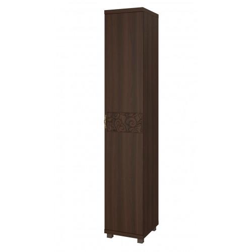 12 «Ирис» Шкаф-пенал для белья (1 дверь) (Дуб Тортона)