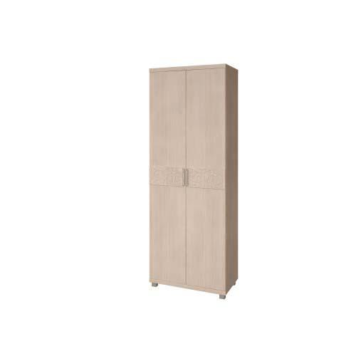 28 «Ирис» Шкаф для одежды 2-х дверный (Дуб Бодега)
