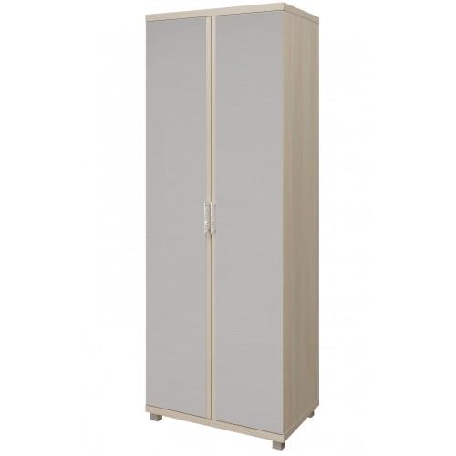 10 «Ирис» Шкаф для одежды 2-х дверный с зеркалом (Дуб Бодега)
