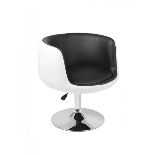 Барное кресло CH-5032 Cup белое с черным