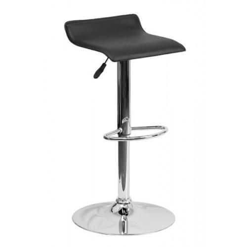 Барный стул из экокожи черный Provence 3013
