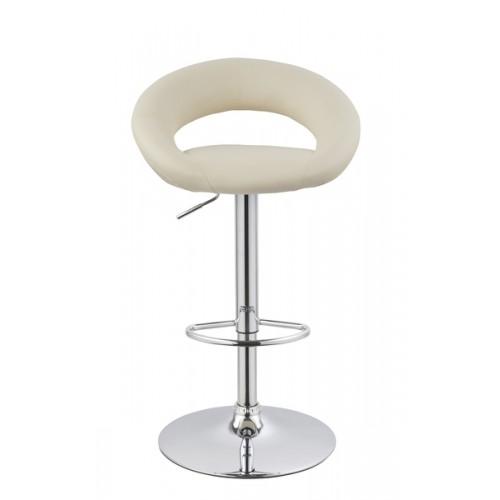 Барный стул из экокожи бежевый Mira 5001