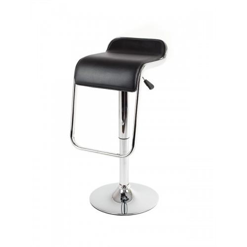 Барный стул из экокожи черный Sienna MKW667