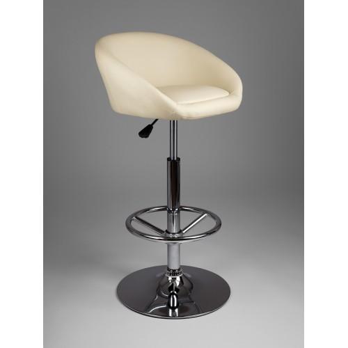 Барный стул из экокожи бежевый James 5002
