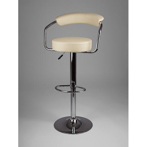 Барный стул из экокожи бежевый Angle 5013