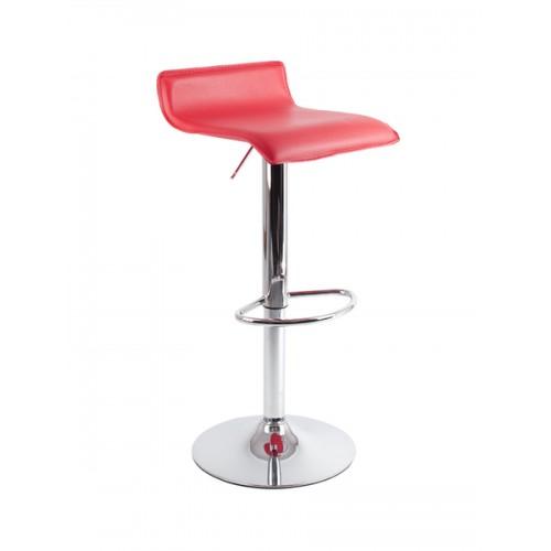 Барный стул из экокожи красный Provence 3013