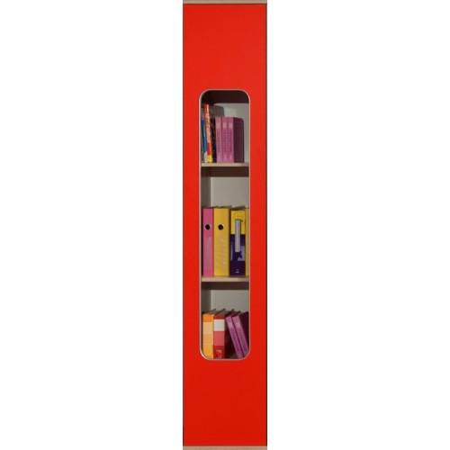 Автобус 7 Шкаф для книг, Фасад Красный