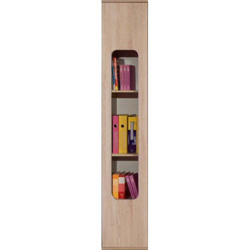 Автобус 7 Шкаф для книг, Фасад Дуб Сонома