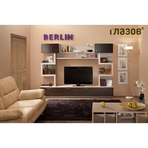 Гостиная BERLIN «Берлин» (композиция 3) Фасад Венге