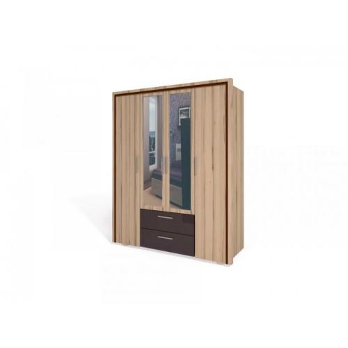 «Моника» Шкаф для платья и белья ИД 01.127
