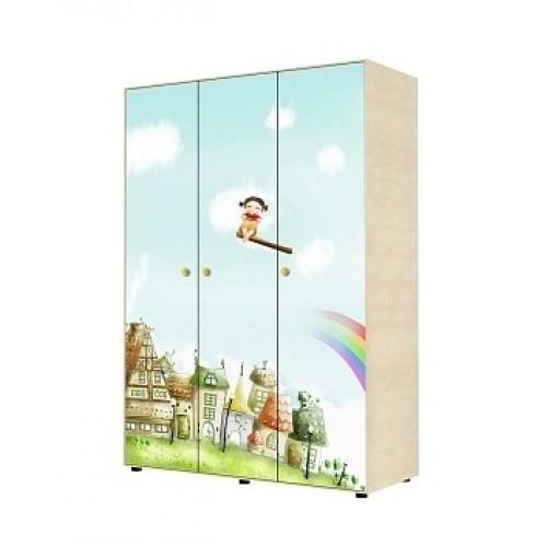 «Браво» 01 Шкаф для одежды трехдверный