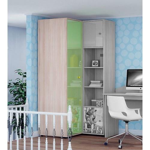 «Браво» 15 Шкаф угловой для одежды