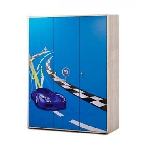 «Браво» № 01 Шкаф для одежды трехдверный