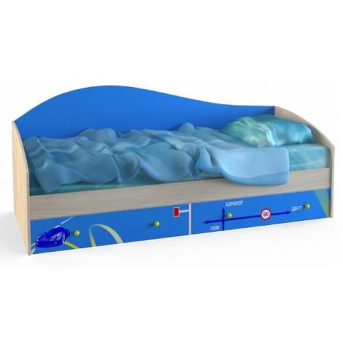 «Браво» №06 Кровать одинарная 80*200 с ортопедом, без матраса