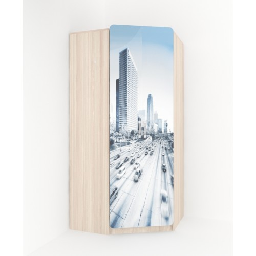 02 Шкаф угловой «Манхеттен»