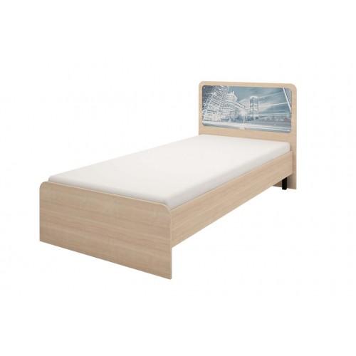 06 Кровать на 90*200 см, без ортопеда, без матраса «Манхеттен»
