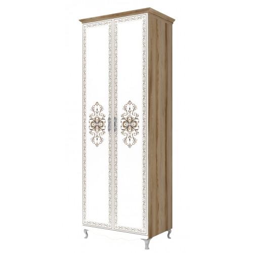 16 «Династия» Шкаф для одежды 2-х дверный
