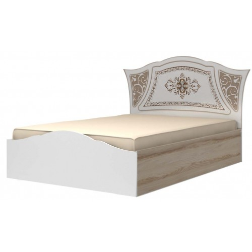 19 Кровать двойная 140*200 с латами «Династия»