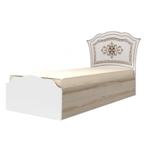 23 Кровать одинарная 90*200 см с латами «Династия»