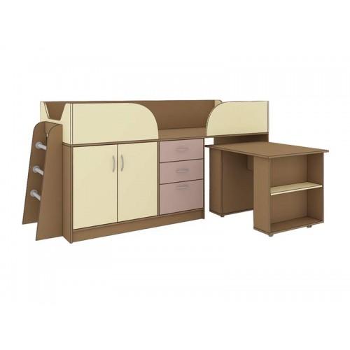 «Престиж-3» №35 Кровать многофункциональная