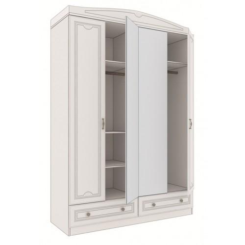 «Мальвина-люкс» 10 Шкаф 4-х дверный