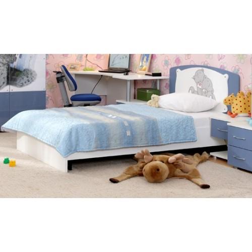 «Бьянка» 5 Кровать 120*200 см (с декоративной накладкой) без ортопеда, без матраса