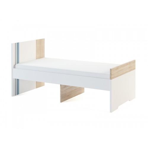 «Лион» 1 Кровать малая 80*160 с основанием, без матраса