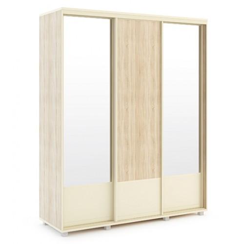 «Оливия» 24 Шкаф-купе 1765*600 Корпус + 25 Фасад без зеркала + 26 Фасад с зеркалом*2 шт
