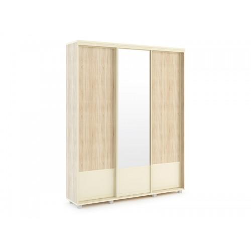 «Оливия» 24 Шкаф-купе 1765*600 Корпус + 25 Фасад без зеркала*2 шт + 26 Фасад с зеркалом