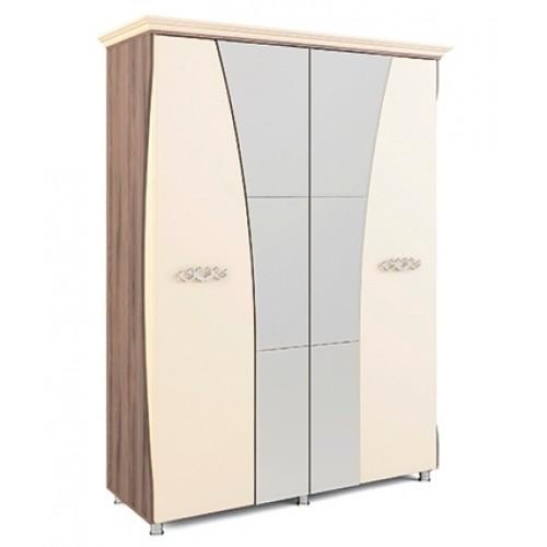 «Натали» Модуль 10 Шкаф четырехдверный с карнизом