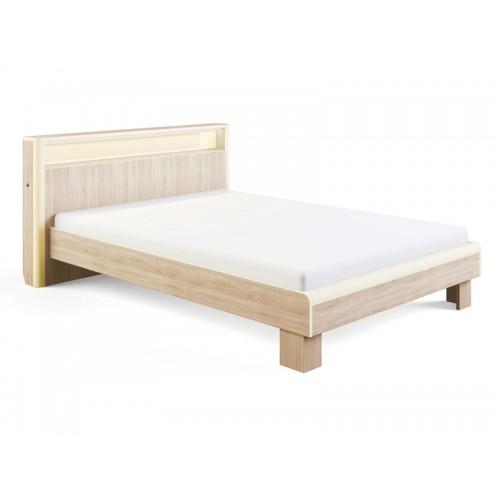 «Оливия» 3.1 Кровать с подсветкой 140*200, без ортопеда, без матраса