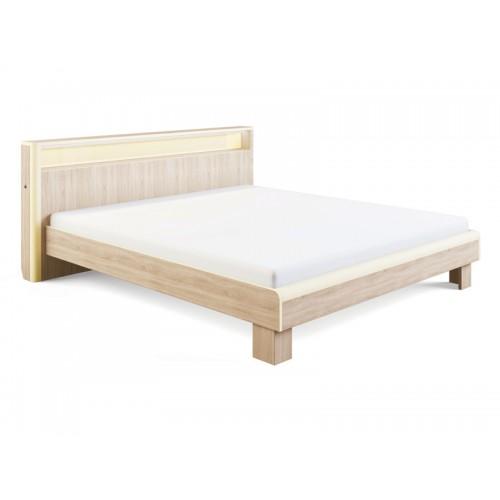 «Оливия» 3.2 Кровать с подсветкой 160*200, без ортопеда, без матраса