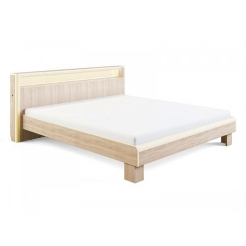«Оливия» 3.3 Кровать с подсветкой 180*200, без ортопеда, без матраса