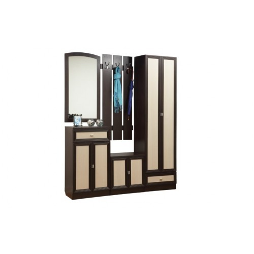 Набор мебели для прихожей Визит-М11 рамочный
