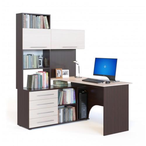 Компьютерный стол КСТ-14Л (левый)
